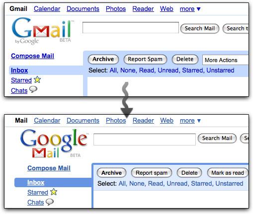 Gmail para Google Mail