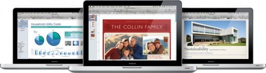 iWork '09 em MacBooks