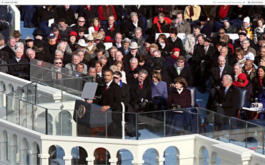Posse do Obama em zoom no NYTimes.com