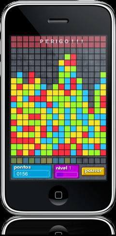 PopBlocks no iPhone