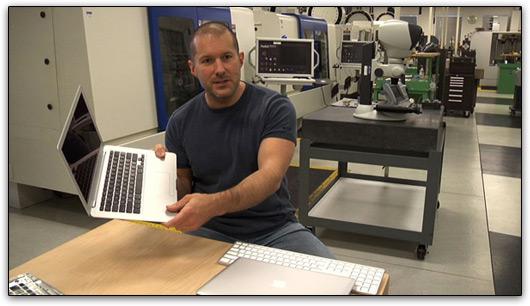 Jonathan Ive dentro do R&D da Apple