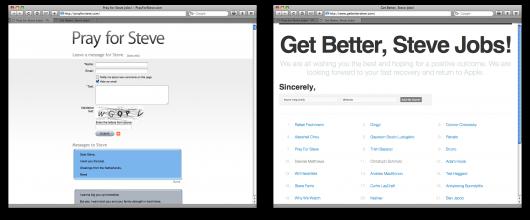 Sites pró Steve Jobs