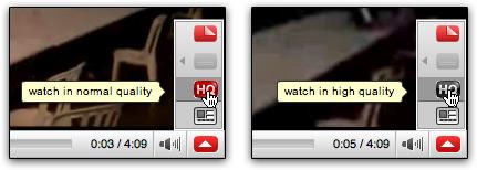 Vídeos em HD YouTube embedded