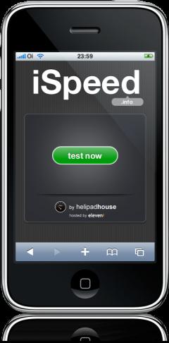 iSpeed no iPhone