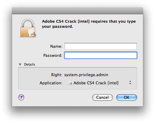 Trojan no Photoshop pirata para Mac