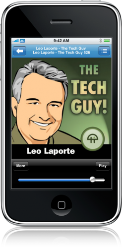 Player de Podcasts do Rss Player