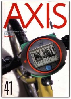 Apple na revista de design japonesa Axis