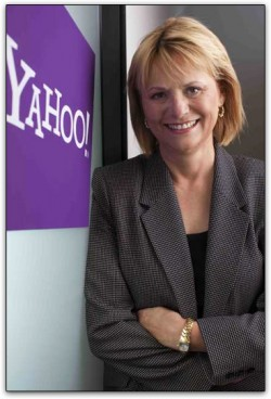 Carol Bartz, CEO do Yahoo