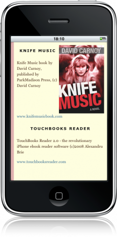 Knife Music — promo