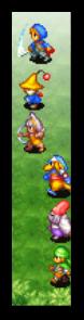 Crystal Defenders — profissões