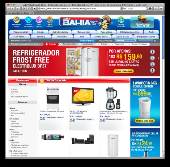 Portal Casas Bahia
