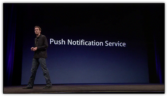 Serviço de Notificações Push para o iPhone OS