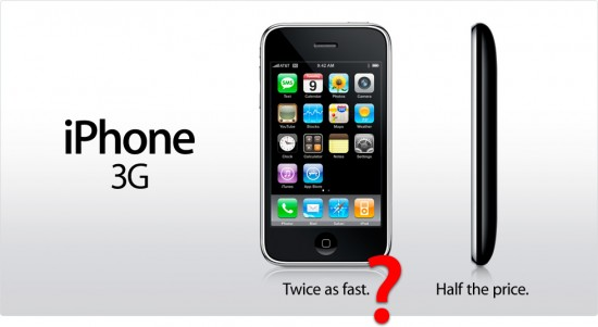 iPhone 3G twice as fast?