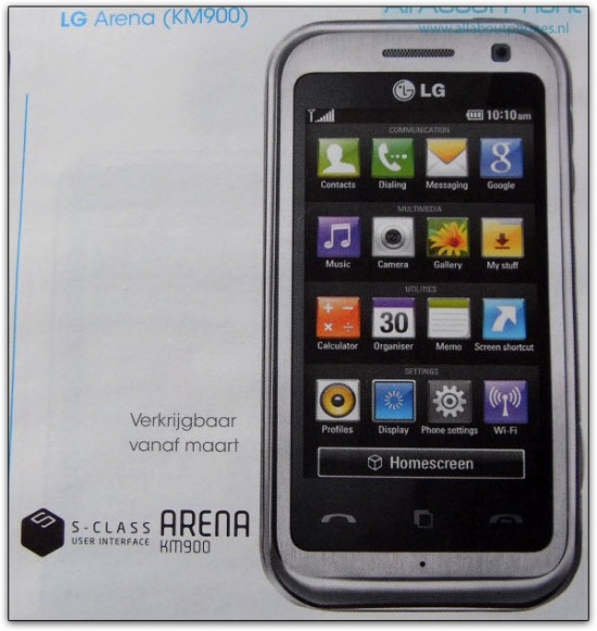 """A LG chama isso de sua nova interface """"S-Class 3D inovadora""""; a-ham!"""