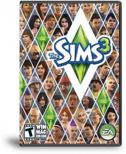 Caixa do The Sims 3