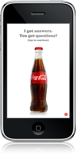 Magic Coke Bottle