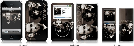 MusicSkin do Coldplay
