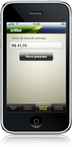 brMailPro no iPhone
