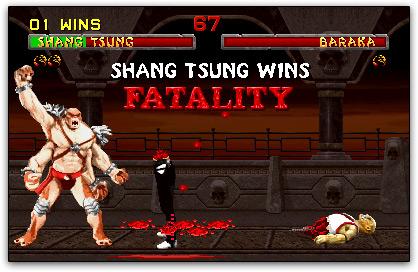 Fatality de Mortal Kombat