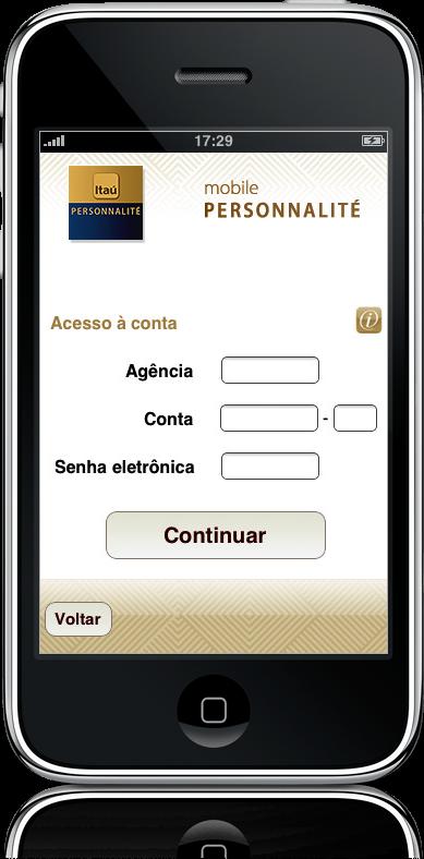 Personnalité no iPhone