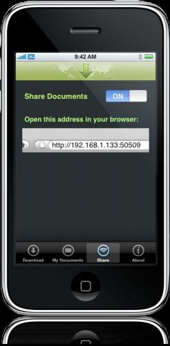 SaveMyDocs 3.0 no iPhone