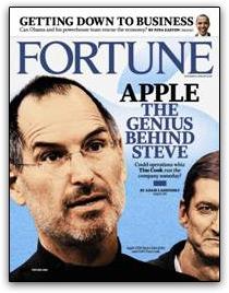 Jobs e Cook na Fortune