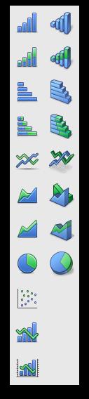 Novas opções de gráficos no Numbers '09