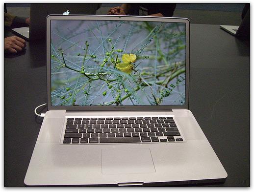 MacBook Pro de 17 matte