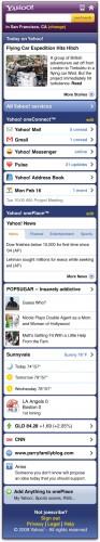 Novo Yahoo! Mobile