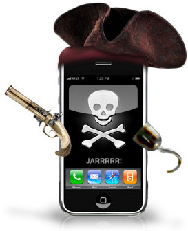 iPhone pirata (jailbreak)