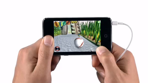 Comercial do iPod touch