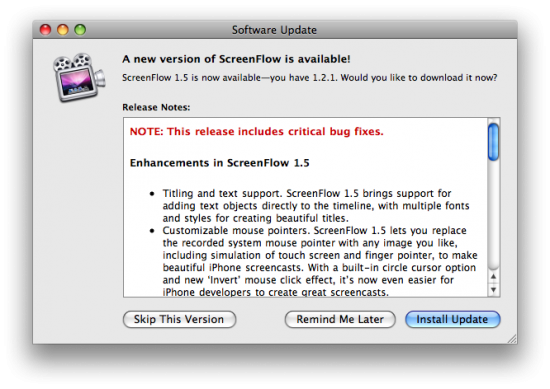 ScreenFlow 1.5