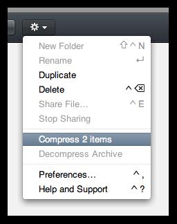 Compartilhando múltiplos arquivos com o iDisk do MobileMe