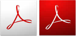 Ícones do Adobe Acrobat e Reader
