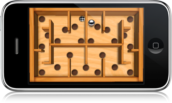 Wooden Labyrinth 3D no iPhone