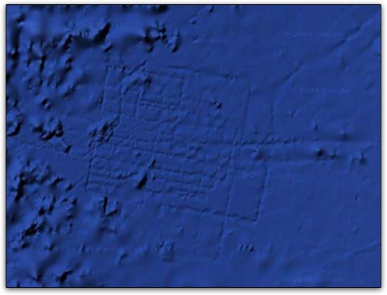 Atlantis no Google Earth 5.0