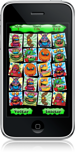 Monstros no iPhone