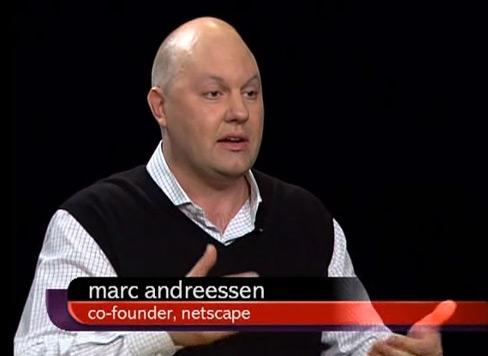 Marc Andreessen no Charlie Rose