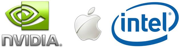 NVIDIA, Apple e Intel