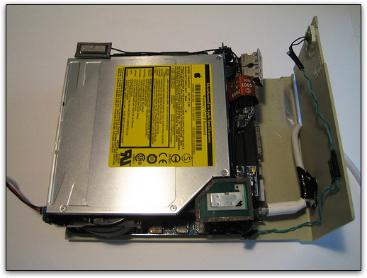 Mac mini num Apple II Disk