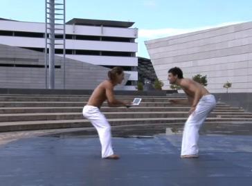 Capoeira com o Sony VAIO P