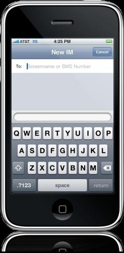 AIM Free para iPhone