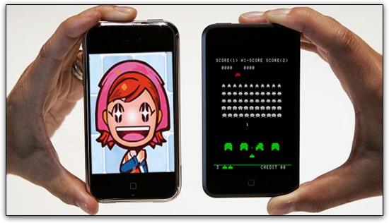 Cooking Mama e Space Invaders, da TAITO