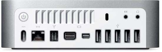 Mac mini (trás)