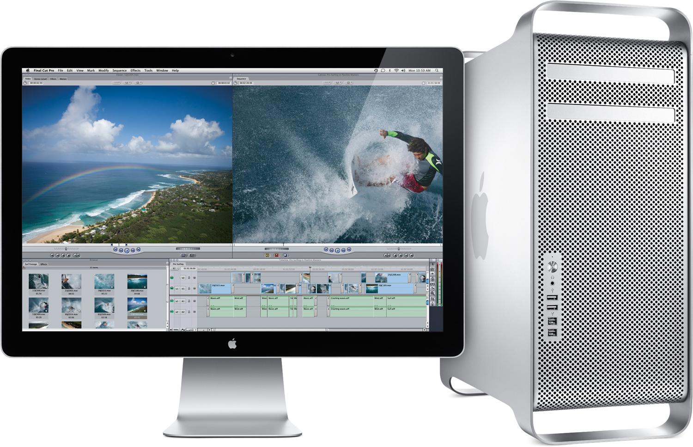 Mac Pro com LED Cinema Display