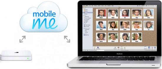 MobileMe e Time Capsule