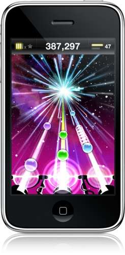 Tap Tap Revenge 2 no iPhone