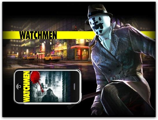 Watchmen no iPhone