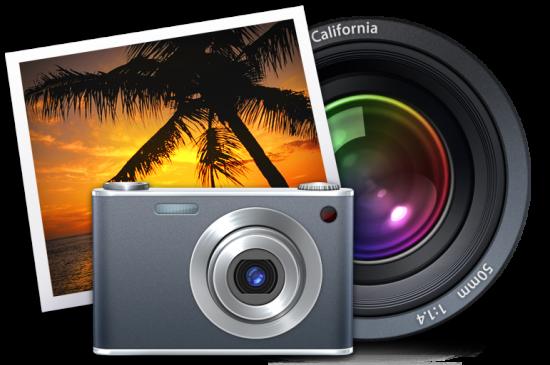 Ícones do iPhoto e Aperture
