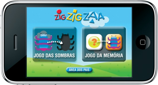 Zig Zig Zaa no iPhone